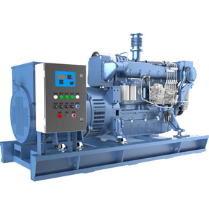 Weichai Medium Speed Marine Diesel Generator Set